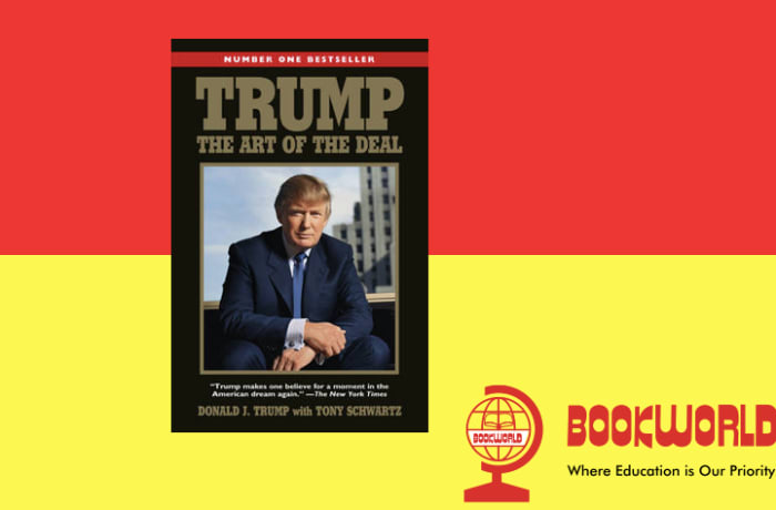 The number one bestseller from the 45th president of the United States image