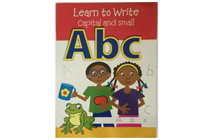 Learn To Write Capital And Small Abc