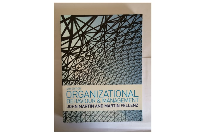 Organisation Behaviour And Management