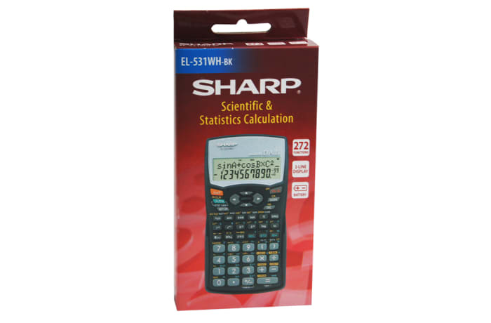 SHARP EL-531WH-Book Scientific Calculator