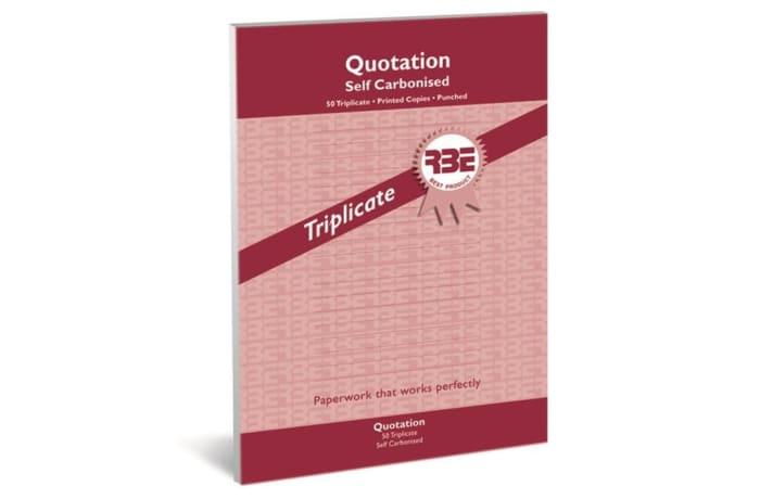 Triplicate Books A4