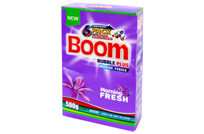 Boom Bubble Plus Washing Powder Morning Fresh
