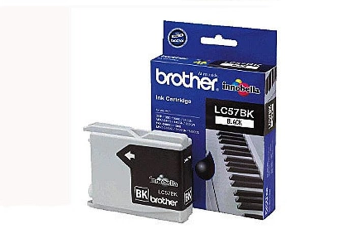 Printer Toner Cartridges - Brother LC57 Black Ink Cartridges