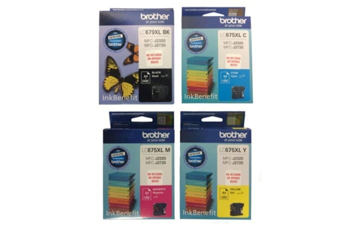 Printer Toner Cartridges - Brother LC675XL Ink Cartridges