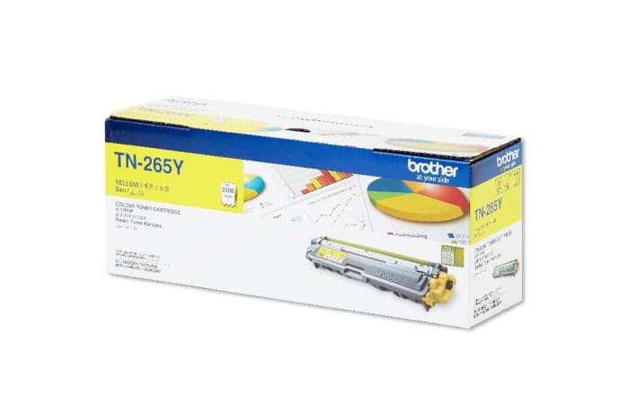 Brother Tn-265y Yellow Toner Cartridge
