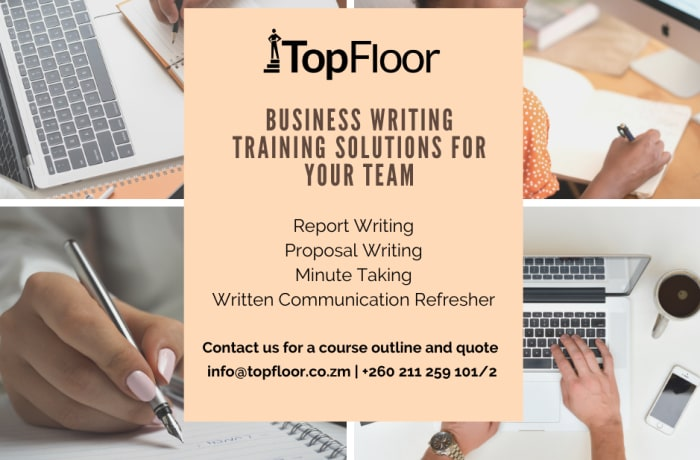 Business writing training solutions for your team image