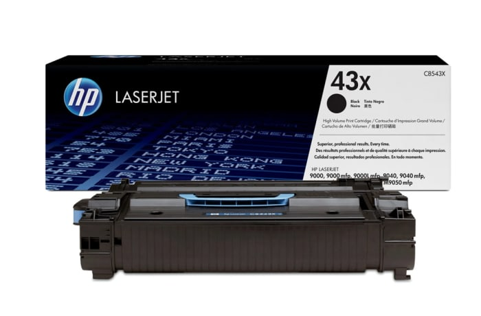 Printer Toner Cartridges - Hewlett Packard HP 43X Toner Cartridge