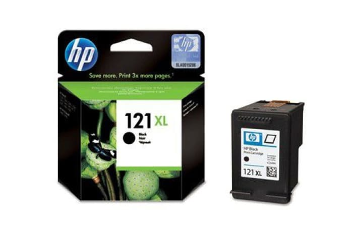 Printer Toner Cartridges - Hewlett Packard HP 121XL Black Toner Cartridge