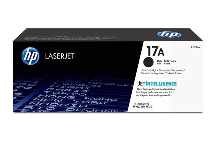 Printer Toner Cartridges - Hewlett Packard CF217A (HP 17A) Black Toner Cartridge
