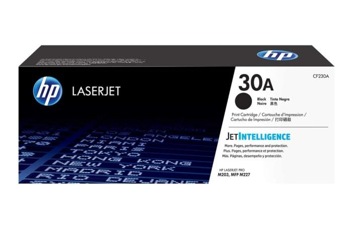 Printer Toner Cartridges - Hewlett Packard CF230A (HP 30A) Black Toner Cartridge