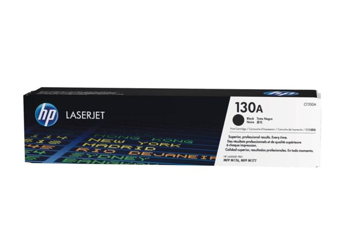 Printer Toner Cartridges - Hewlett Packard CF350A (HP 130A) Black Toner Cartridge