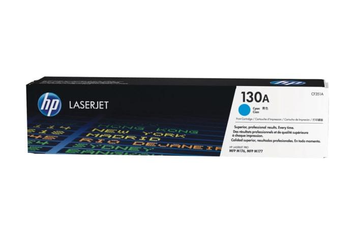 Printer Toner Cartridges - Hewlett Packard CF351A ( HP 130A) Cyan Toner Cartridge