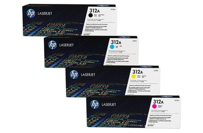 Printer Toner Cartridges - Hewlett Packard CF380A (HP 312A) Toner Cartridges