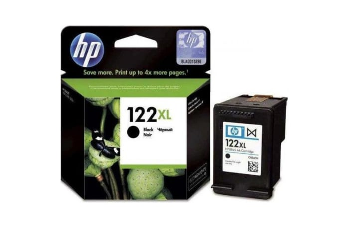 Printer Toner Cartridges - Hewlett Packard HP 122XL Black Toner Cartridge