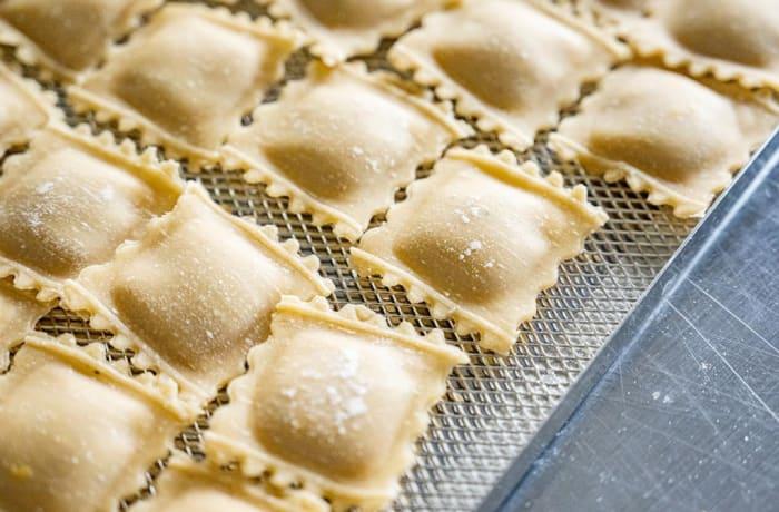 Tansi Kitchen -Fresh pasta: Chicken and Rosemary Ravioli