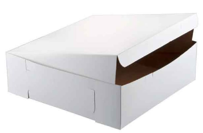 Foldable Cake Box  White