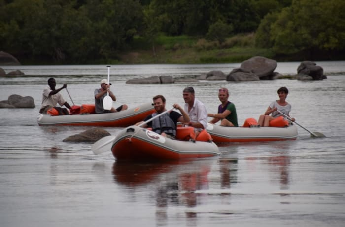 Full day canoe trip