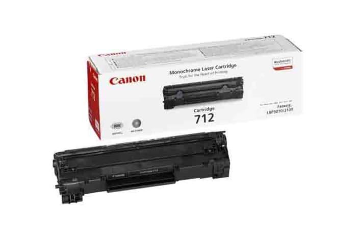 Canon 712  Black Toner Cartridge