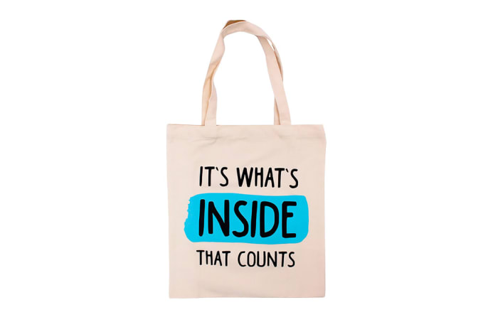 Canvas Tote Bag - It's What's Inside That Counts