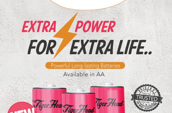 Extra Power Tigerhead batteries image