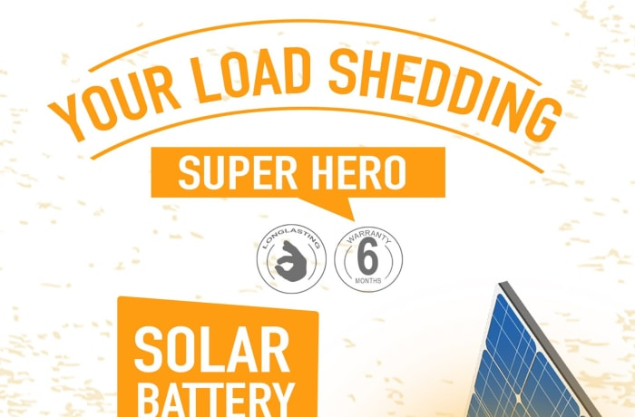 Always stay powered with TigerHead Deep Cycle Solar batteries image
