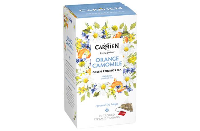 Herbal Tea Orange Camomile Green Rooibos Tea  20 Teabags