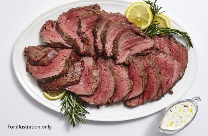 Milile Wedding Option 5 - Cold Entree - Smoked Beef Platter