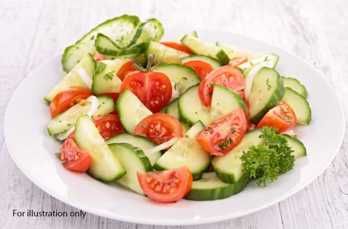 Milile Wedding Option 5 - Greek Salad - Cucumber Tomato Salad