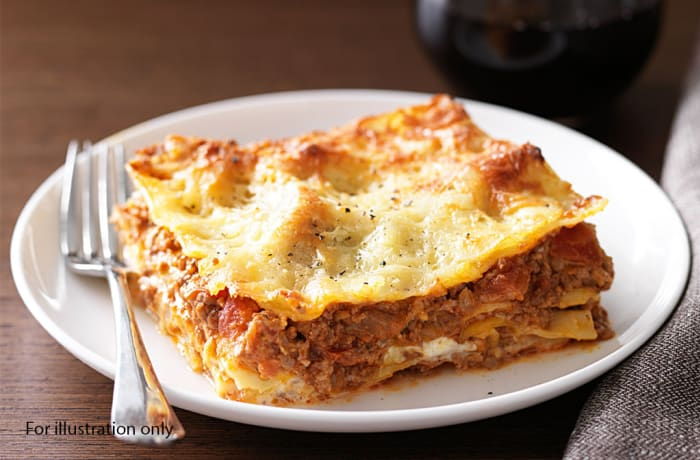 Milile Wedding Option 4 - Main Course - Beef Lasagna