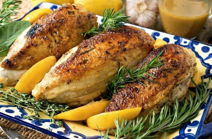 Milile Wedding Option 3 - Main Course - Chicken Rosemary