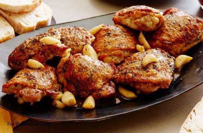 Milile Wedding Option 4 - Main Course - Garlic Chicken