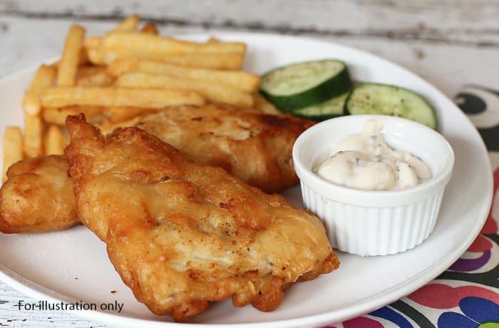 Milile Wedding Option 1 - Main Course - Fried Fish Fillets
