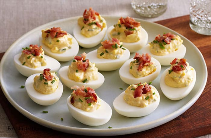 Milile Wedding Option 2 - Cold Entree - Devilled Eggs