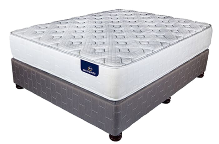 Sertapedic  - Celeste Plush Mattress & Base Set