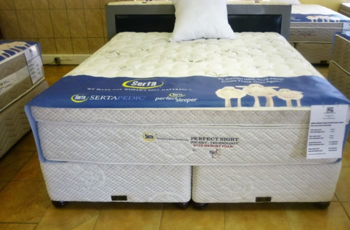 Serta  - Perfect Night Box Pillow Top Mattress & Base Set