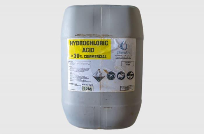 Hydrochloric Acid >30% Commercial