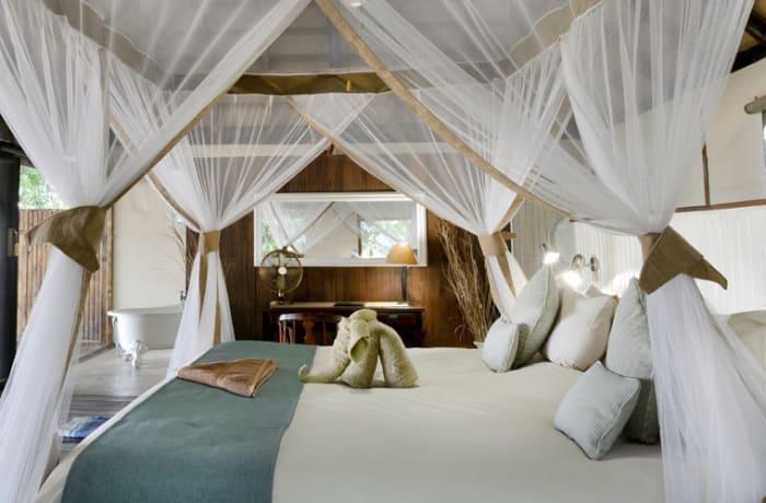 Safari camp image