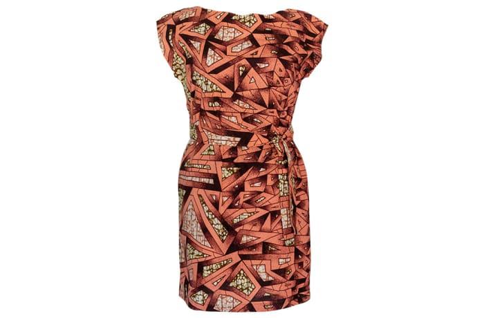 Wraparound Dress Chitenge with Optional Tie Belts