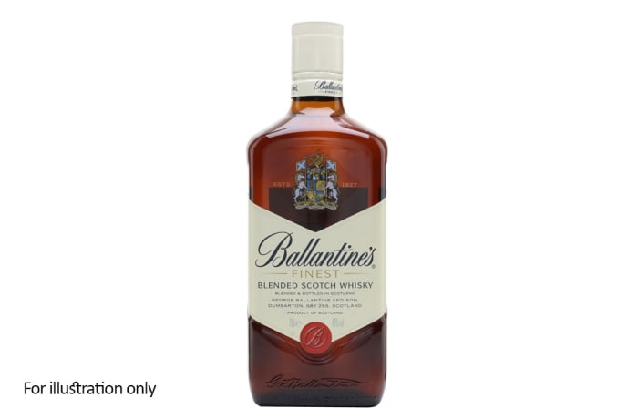 Scottish Blended Whisky -  Ballantine's Finest
