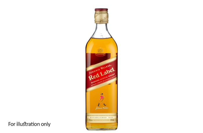 Scottish Blended Whisky -  Johnnie Walker Red Label