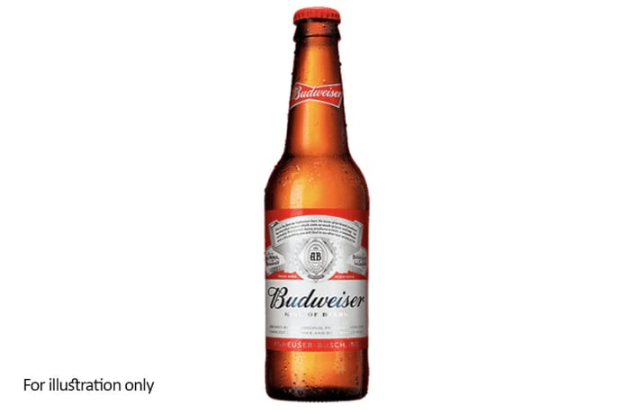 Bottled Lager - Budweiser