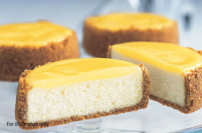 Desserts - Baked Lemon Cheese Cake