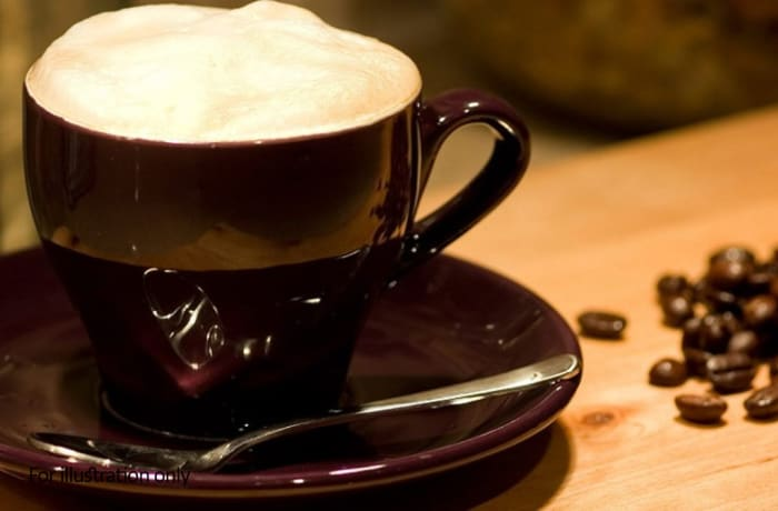 Beans And Leaves - Fantastic Zambian Coffee - Café Latte - Italian Style