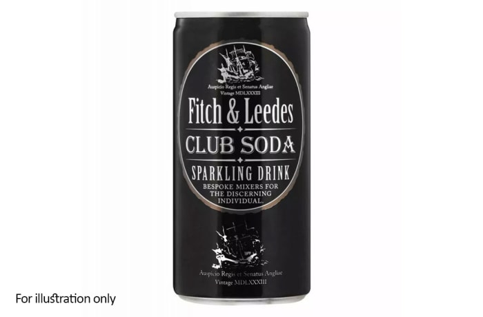 Fitch & Leedes Premium Mixers - Club Soda