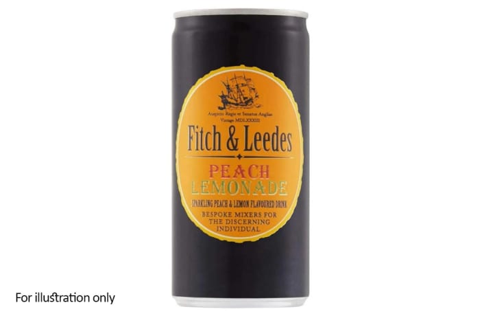 Fitch & Leedes Premium Mixers - Peach Lemonade