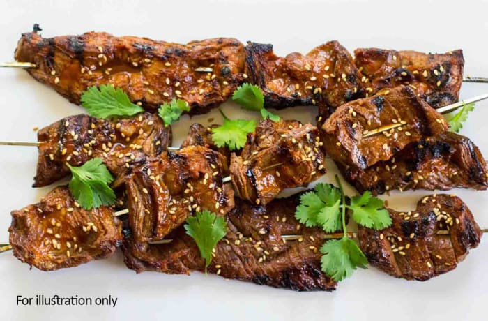 From the Grill - Beef Kebab
