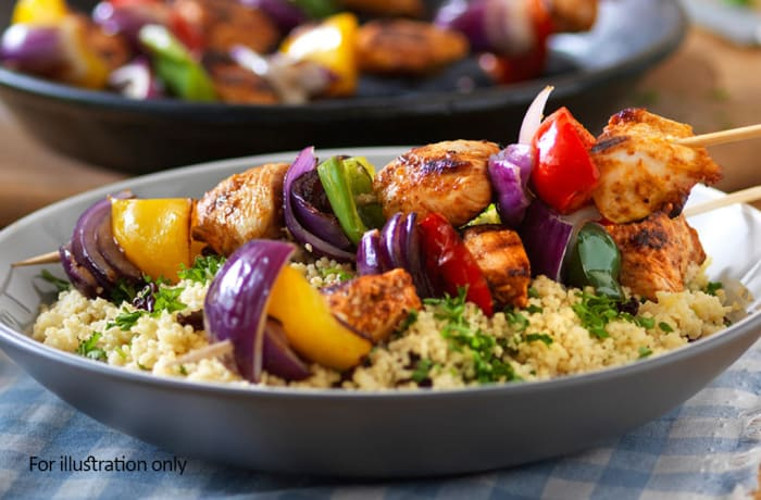 From the Grill - Chicken Kebab