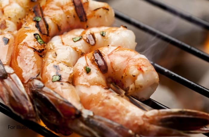From the Grill - Grilled Prawns