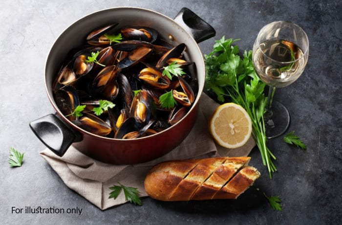 From the Sea - Creamy Mussel Hot Pot