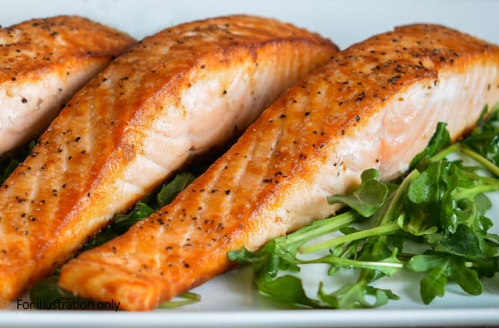 From the Sea - Pan-Fried Salmon